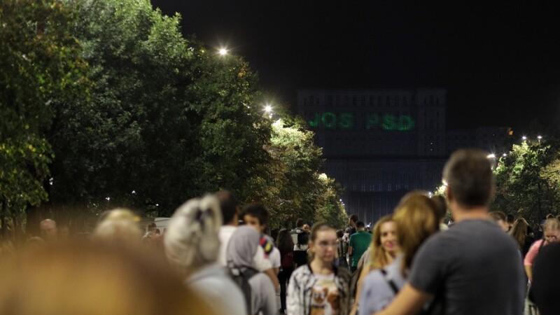 Mesaj anti-PSD pe Casa Poporului, la festivalul iMapp