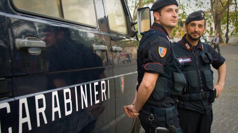 Un român din Italia le-a mulţumit carabinierilor pentru că l-au arestat cu o zi înaintea nunţii