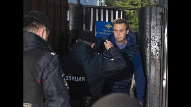 navalnii arestat