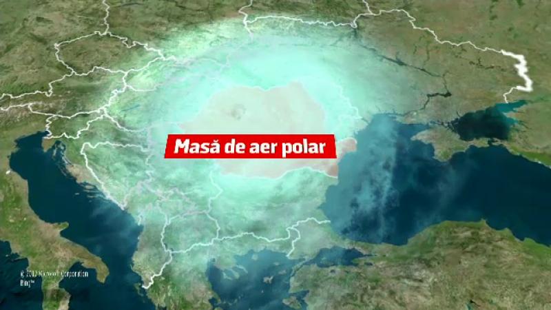 Un val de aer polar intră în România. Vremea se schimbă drastic în această săptămână