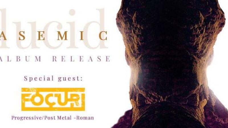 """Asemic, trupă românească de progressive-metal și djent, lansează albumul """"Lucid"""". Concert în Control"""