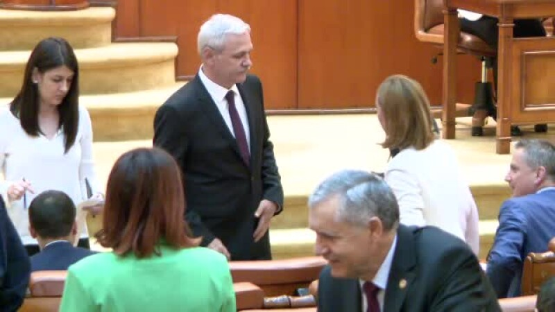 Reacția lui Dragnea după ce Opoziția a cerut revocarea sa de la șefia Camerei Deputaților