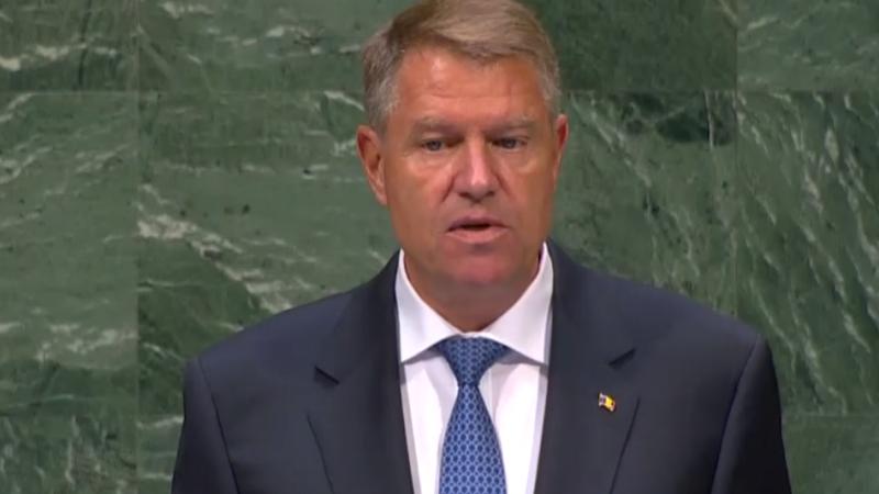 """Iohannis la ONU: """"Există conflicte nerezolvate în zona extinsă a Mării Negre"""". Discursul președintelui"""
