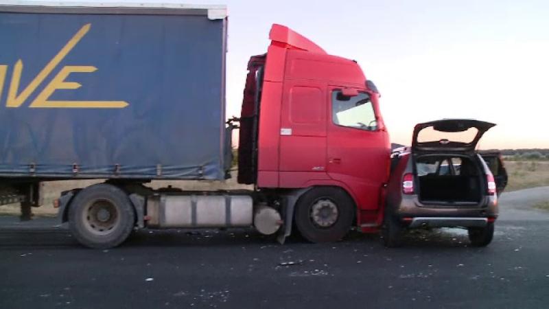 Șofer din Timișoara, izbit în plin de un TIR. Ce greșeală a făcut victima
