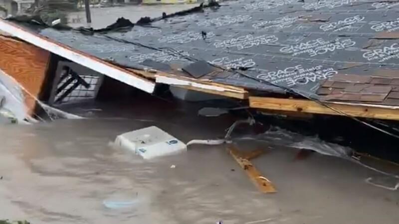 Stare de urgență în SUA. Uraganul Dorian a lovit Bahamas cu rafale de 300 de km/h. GALERIE FOTO