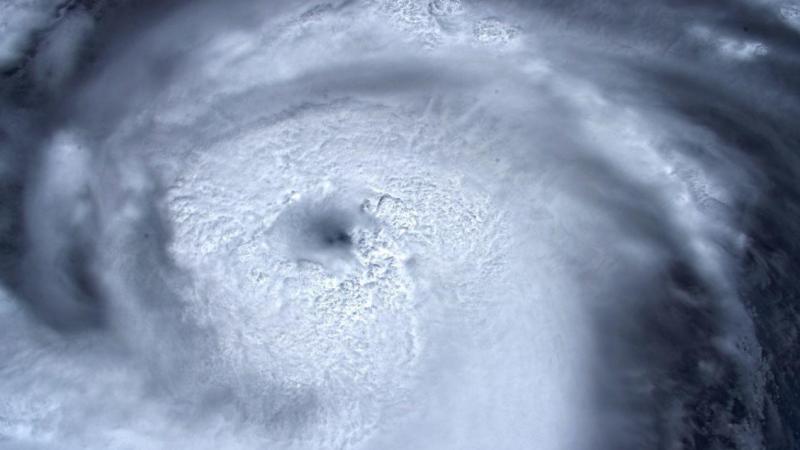Uraganul Dorian, surprins din spațiu de un astronaut ESA