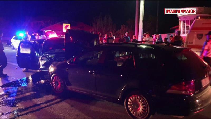 Șase victime, în urma unui accident în Târgu Jiu. Ce s-a întâmplat apoi cu un martor