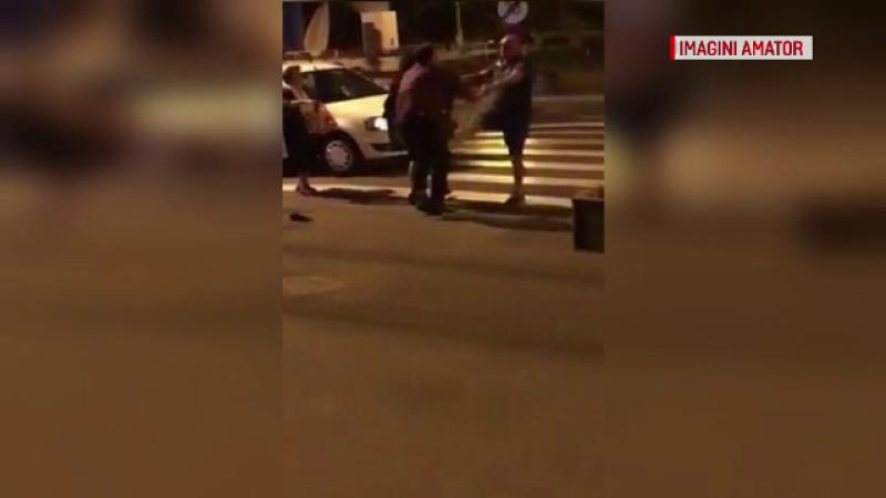 O cursă cu taxiul a iscat un scandal cu pumni și picioare, în Galați. Ce spun martorii