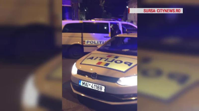 Șoferiță amenințată cu pistolul de 2 indivizi mascați, pe o stradă din Cluj