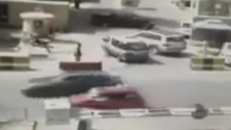 Momentul exploziei de la Kabul surprins de camere
