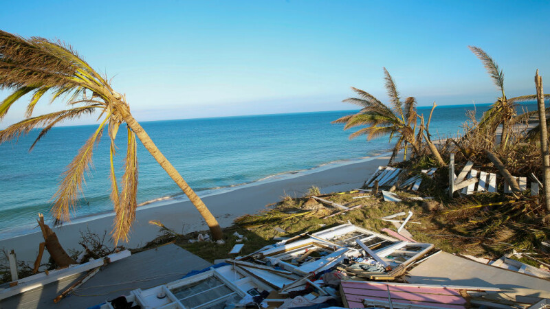 Uraganul Dorian a făcut 43 de victime în Bahamas
