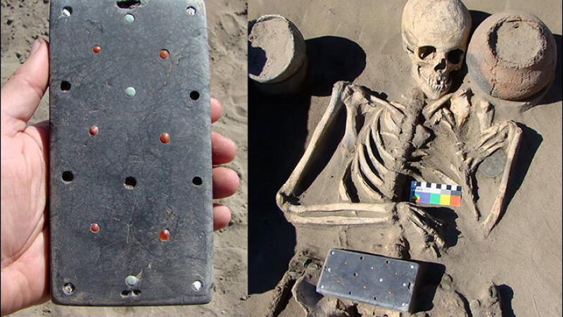 """Obiectul misterios găsit într-un mormânt vechi de 2100 de ani din """"Atlantida Rusiei"""""""