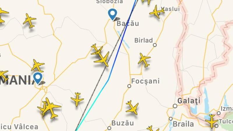 avion, aterizare de urgenta, wizz air, otopeni,