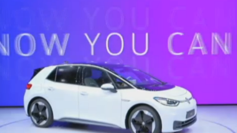 (P) Volkswagen a lasat noul ID.3, prima sa mașină full electrică
