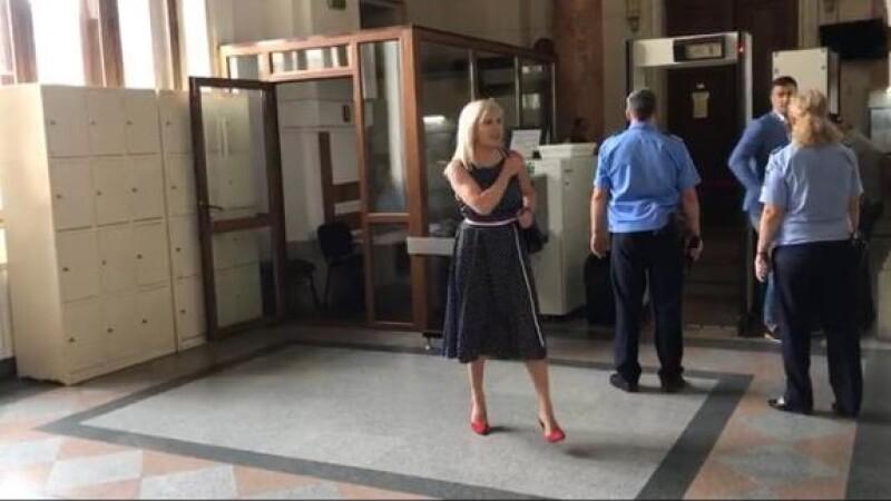 Elena Udrea, prima apariţie publică după întoarcere