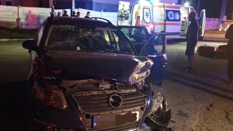 Accident grav în Constanța