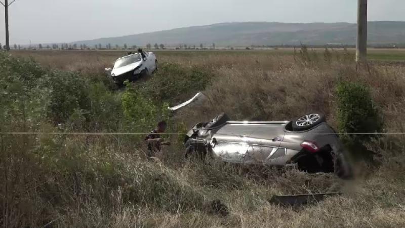 Accident în Buzău