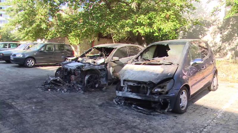 """Mărturiile oamenilor Galați care și-au găsit mașinile arse: """"E pe undeva ascuns"""""""