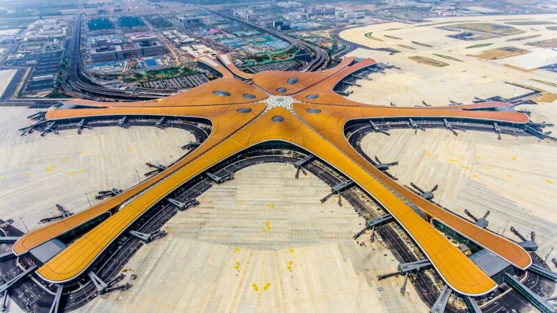 Aeroportul Daxing din China