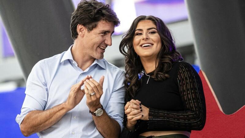 Justin Trudeau, criticat pentru că a îmbrățișat-o pe Bianca Andreescu - 2