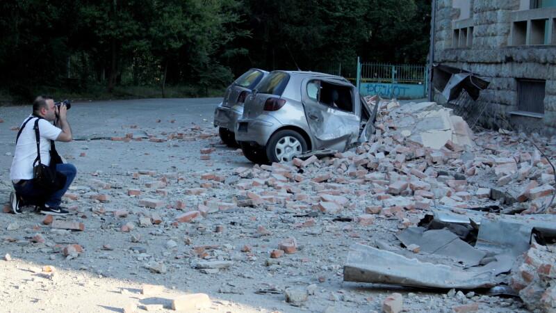 Cutremur in Albania - 12