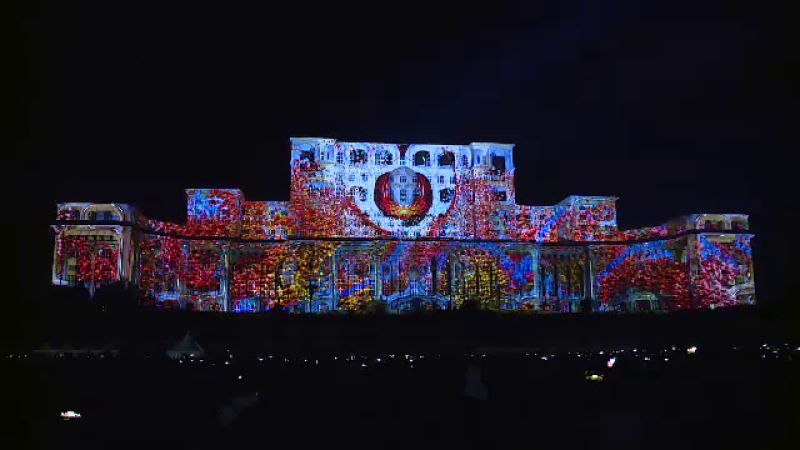 Parlament, video mapping