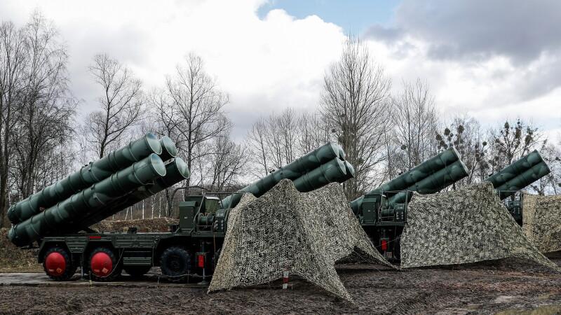 Sistem antiracheta rusesc de la Kaliningrad