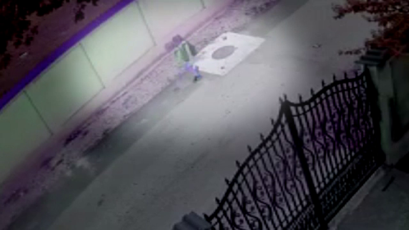 Ultimele imagini cu fetiţa ucisă în Dâmboviţa