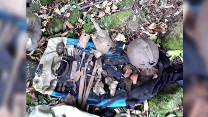 Ce a descoperit un român cu detectorul de metale