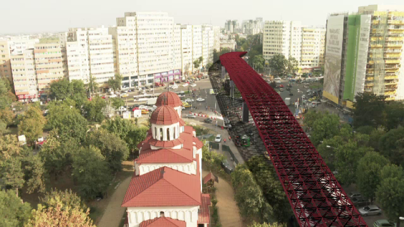 Primăria Capitalei, dată în judecată după debutul lucrărilor la Pasajul Doamna Ghica