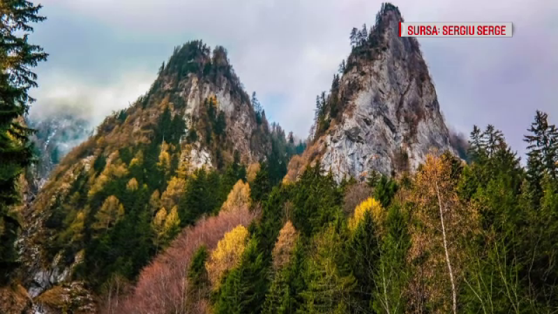 Imagini de vis la munte