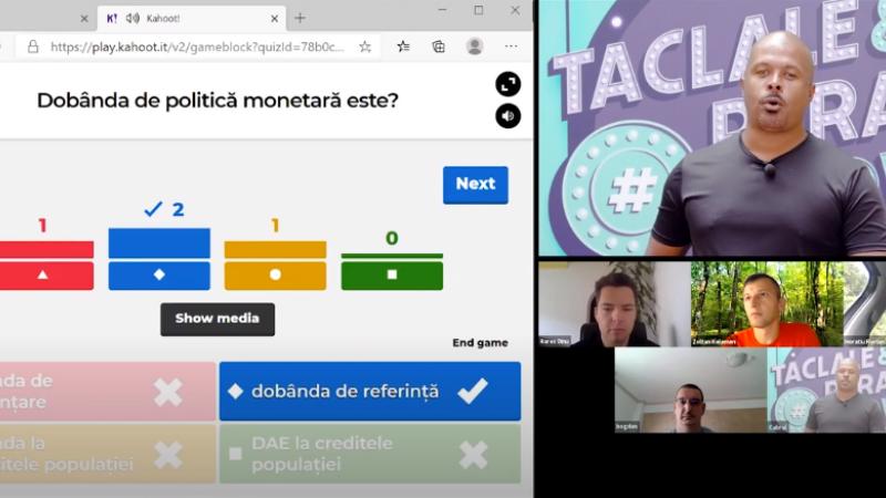 """(P) Zoltan Kelemen, câştigătorul finalei """"La Taclale şi Parale"""", primul show online de educație financiară"""