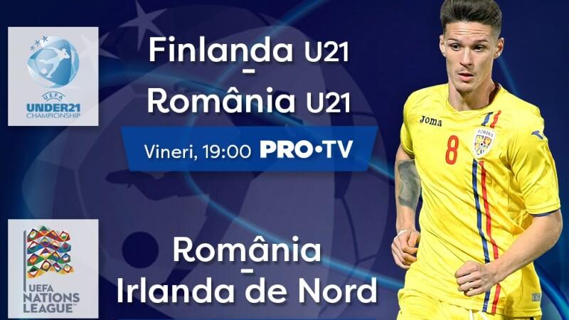 Mirel Rădoi și Adrian Mutu debutează vineri ca antrenori ai echipelor naționale, în direct, la PRO TV!