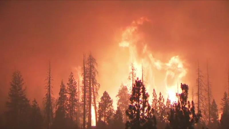 Incendiul uriaş din California a pornit de la o petrecere
