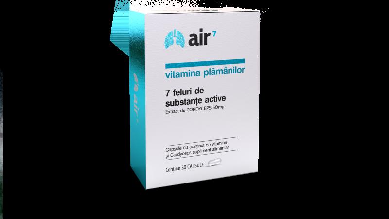 (P) Pregătește-ți sistemul imunitar pentru venirea sezonului rece cu vitamina plămânilor Air7