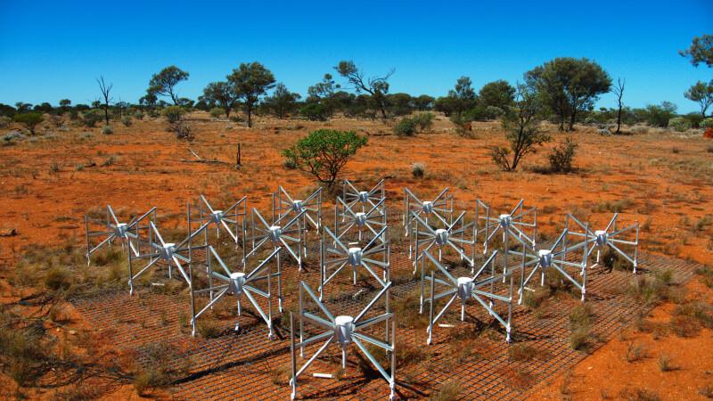 radiotelescop MWA prototip