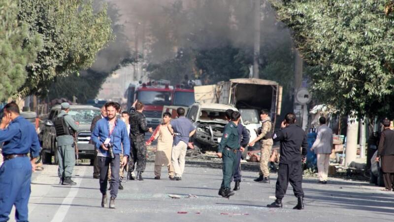 Explozie la Kabul
