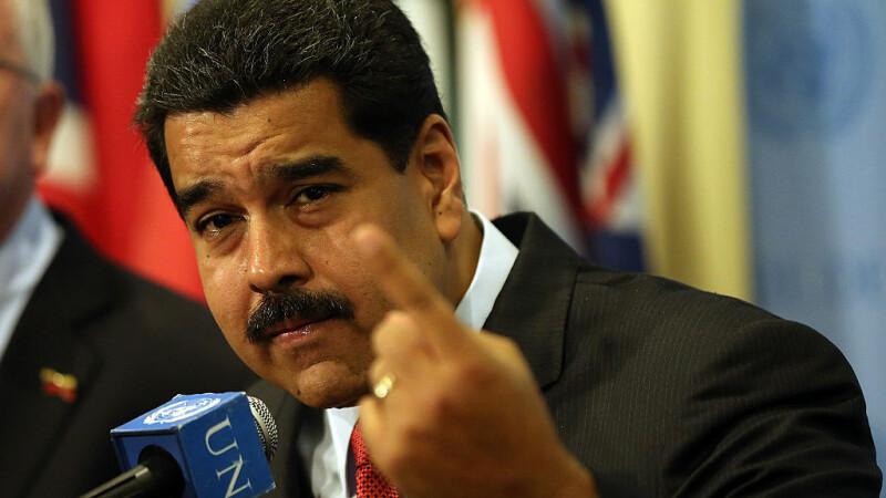 Preşedintele Maduro anunţă prinderea unui