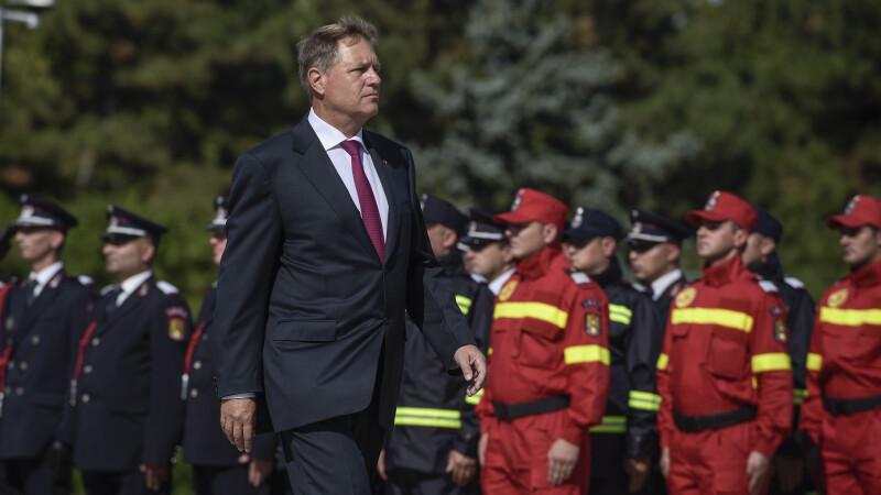 """Iohannis, mesaj de Ziua Pompierilor: """"În aceste momente, aţi dat dovadă, din nou, de profesionalism şi curaj"""""""