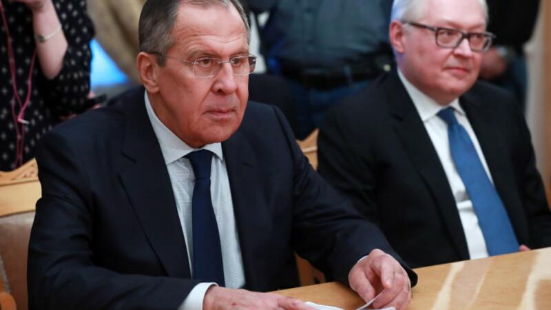 Sergei Lavrov și Sergei Riabkov