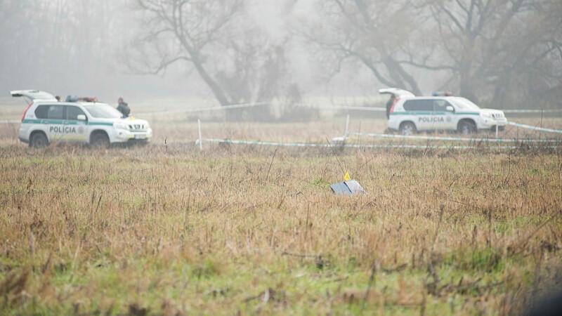 Aparat de zbor prăbușit în Slovacia