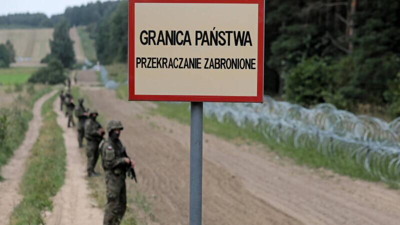 Polonia, Belarus, granita
