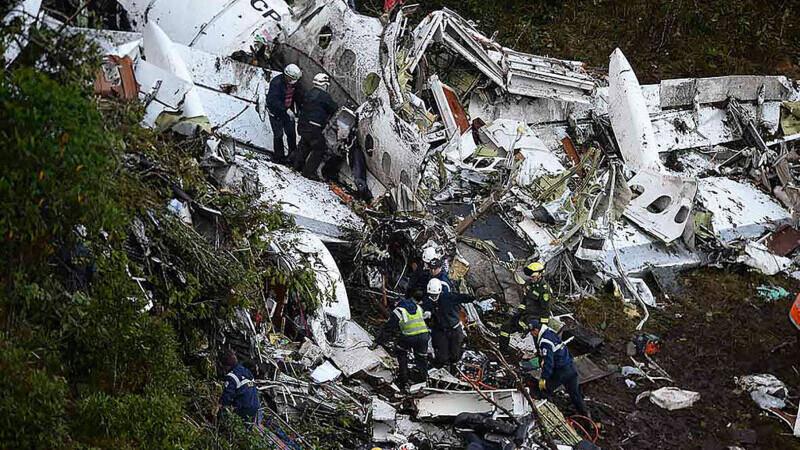 accident aviatic Chapecoense