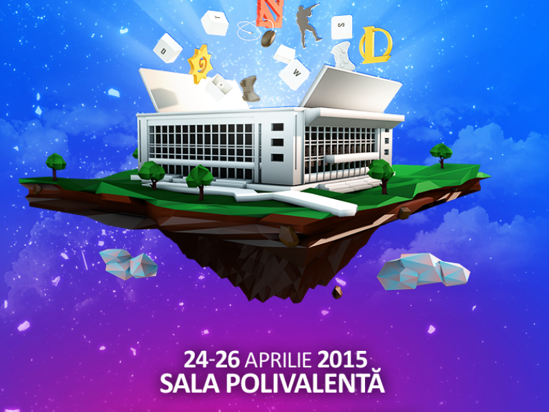 DreamHack Bucharest 2015 - Sala Polivalenta