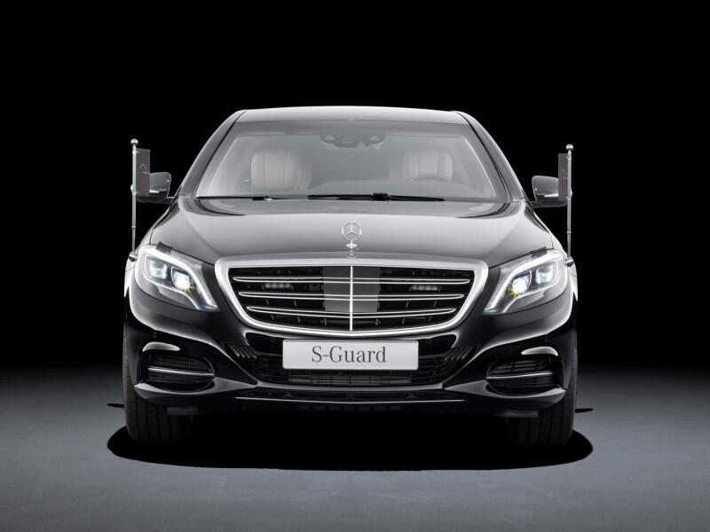 Mercedes, Mercedes S Klasse 600 Guard, S Klasse 600 Guard