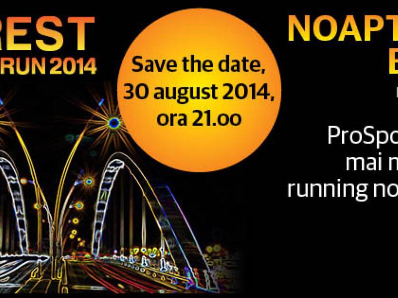 Bucharest Night Run 2014