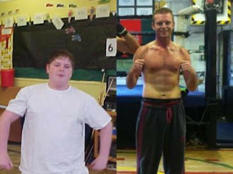 Avea 115 kilograme si suferea de atacuri de panica si astm! Cum arata acum un campion la box dupa ce a renuntat la un singur lucru