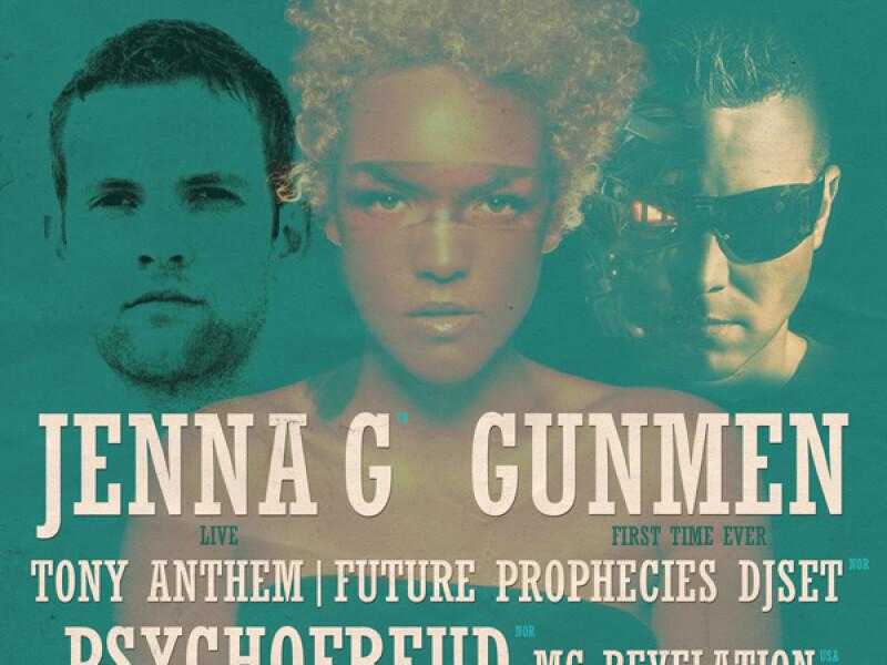 Jenna G, Gunmen, Psychofreud, Tony Anthem, MC Revelation - Arenele Romane