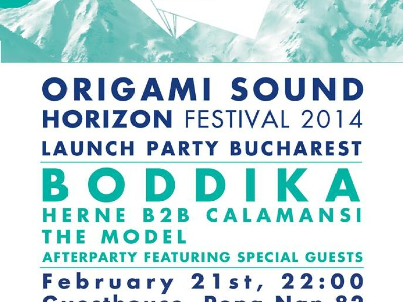 Origami Sound - Horizon Festival Launch Party feat. Boddika - Guesthouse