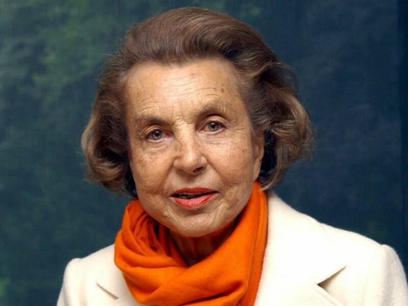 Liliane Bettencourt,